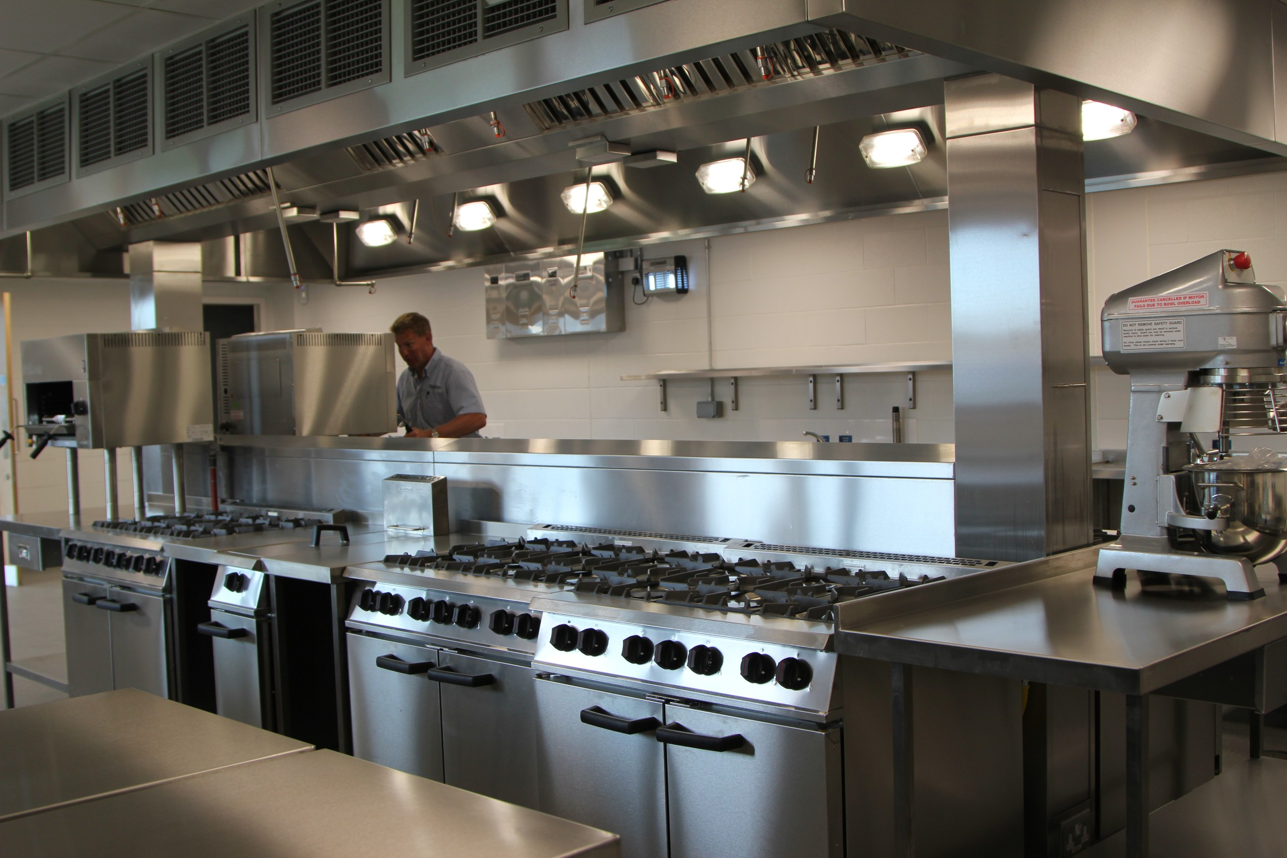 commercial kitchen maintenance Hampshire