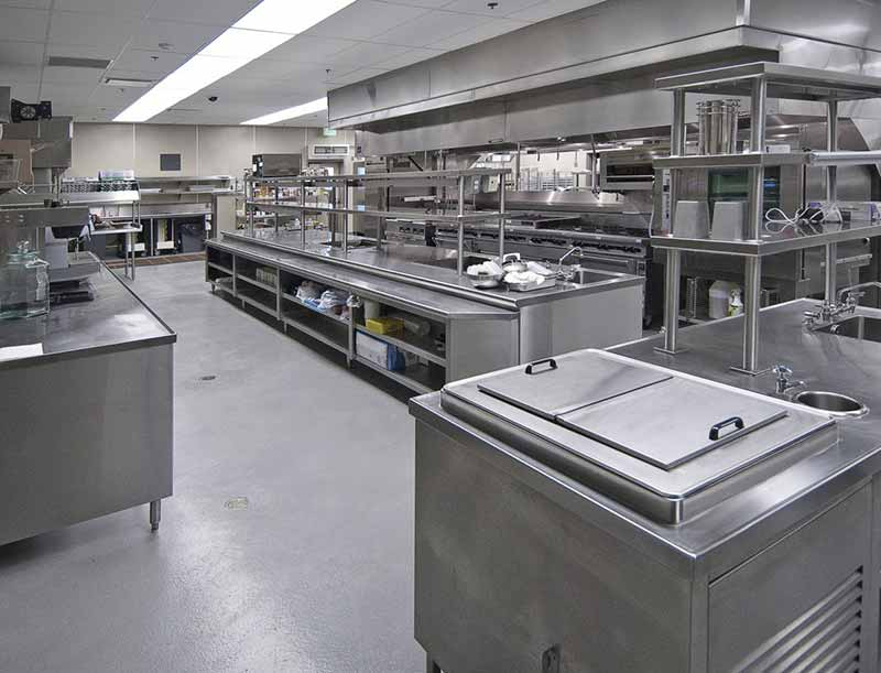 Commercial kitchen installations Hampshire